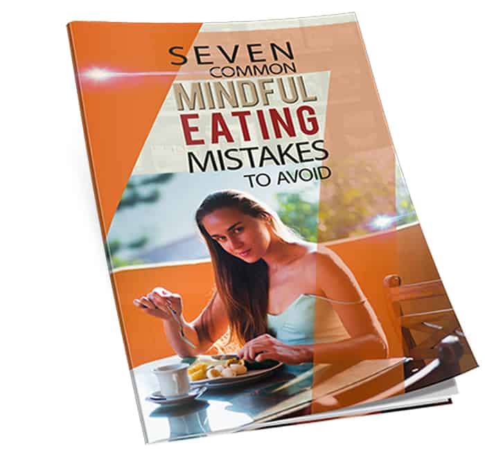 Mindful Eating Mistakes PLR Report and Squeeze Page