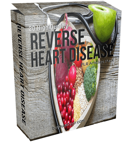 20 High Quality Reverse Heart Disease PLR Articles Pack