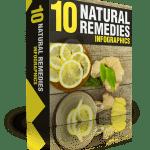 10 Natural Remedies PLR Infographics