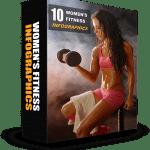 10 Womens Fitness PLR Infographics Pack