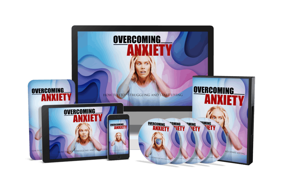 Overcoming Anxiety Sales Funnel with Master Resell Rights