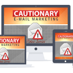 Cautionary Email Marketing PLR Lead Magnet Front End and Upgrade