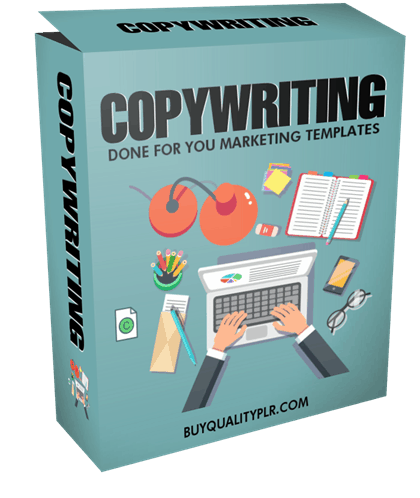Copywriting Done For You Marketing Templates