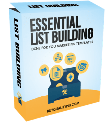 Essential List Building Done For You Marketing Templates
