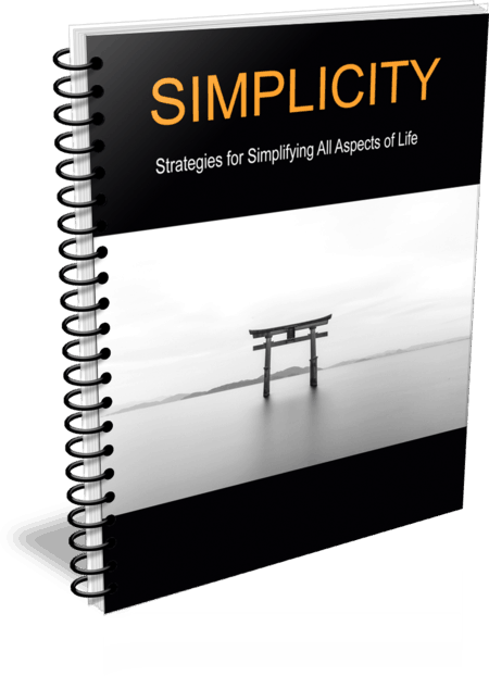Top Quality Simplifying All Aspects of Your Life PLR Report