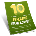 10 Tips For Effective Email Content PLR Lead Magnet Toolkit