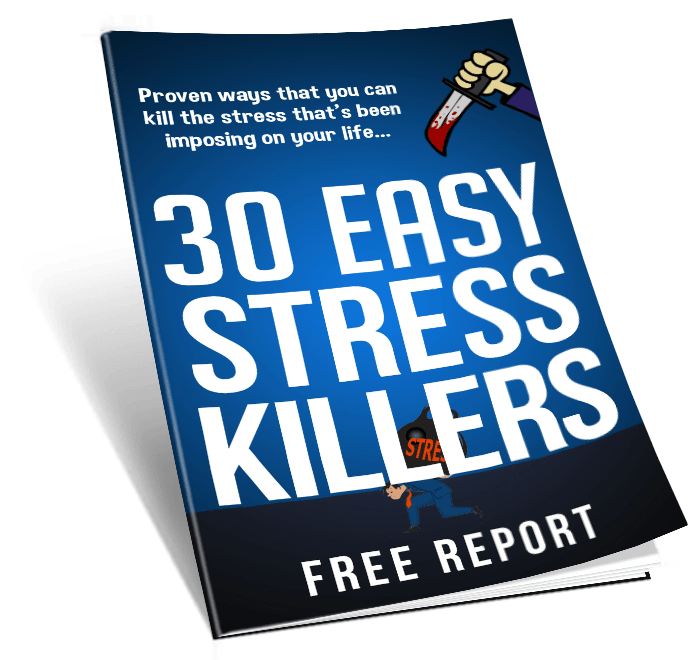 30 Easy Stress Killers PLR Lead Magnet Toolkit PLR Report