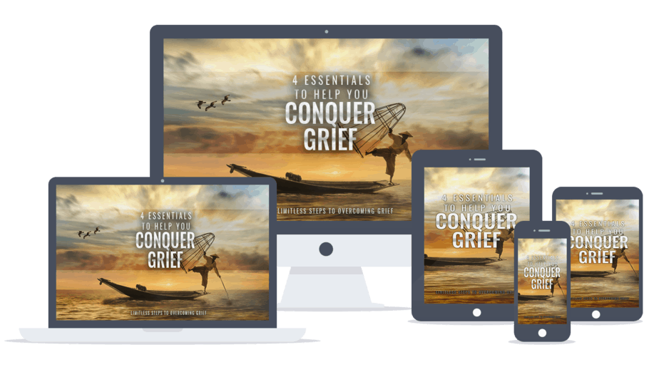 Conquer Grief PLR Lead Magnet List Building Package