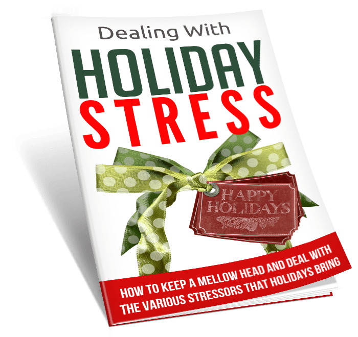 Dealing With Holiday Stress PLR Lead Magnet Toolkit