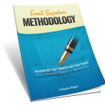 Email Signature Methodology PLR Lead Magnet