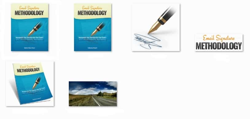 Email Signature Methodology PLR Report Package