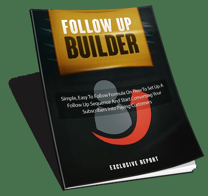Follow Up Builder PLR Lead Magnet Toolkit