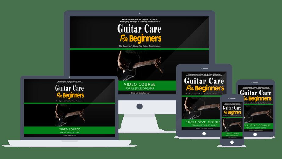 Guitar Care For Beginners PLR lead magnet