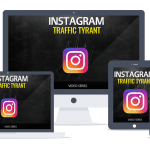 Instagram Traffic PLR Lead Magnet Front End and Upgrade