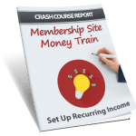 Membership Site Money Train PLR Lead Magnet Report