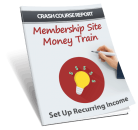 Membership Site Money Train PLR Lead Magnet