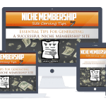 Niche Membership Tips PLR Lead Magnet Front End and Upgrade