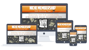 Niche Membership Tips PLR Lead Magnet