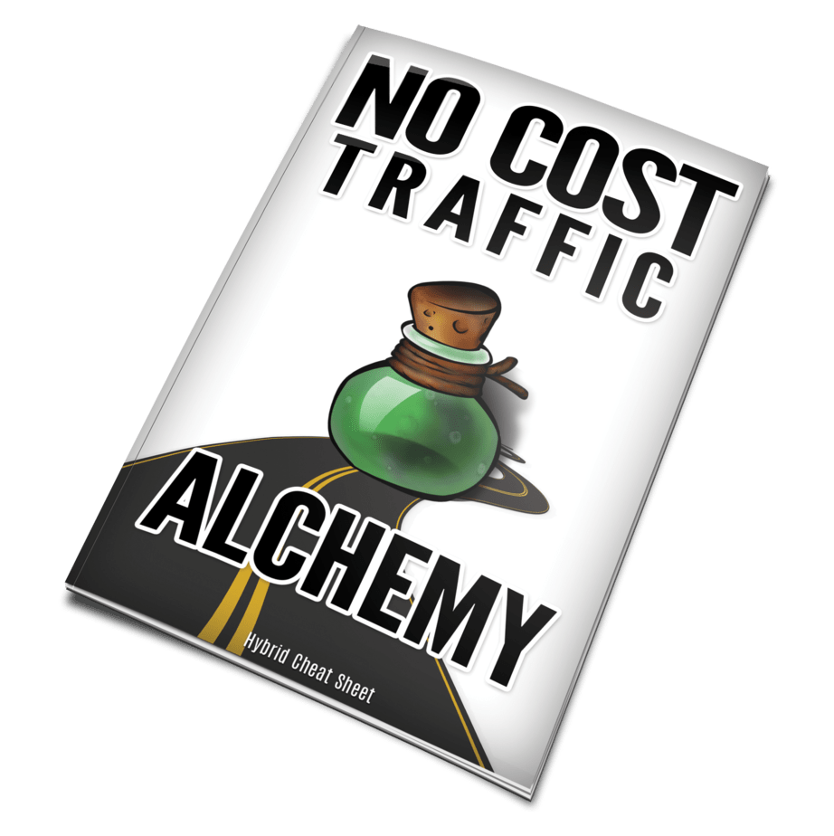 No Cost Traffic Alchemy Monster PLR eBook