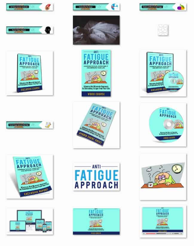 The Anti-Fatigue Approach PLR report kit