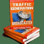 Traffic Generation Broadcaster Monster PLR eBook Package
