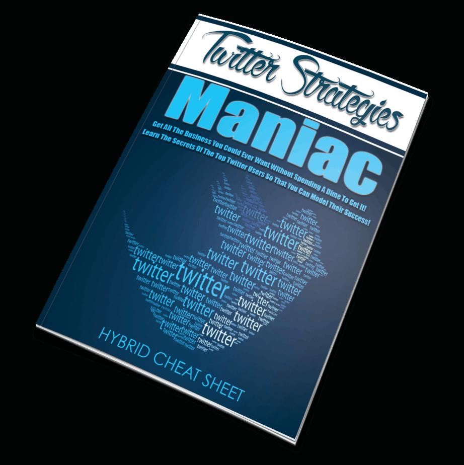 Twitter Strategies Maniac Monster PLR eBook Package