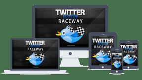Twitter Traffic Raceway PLR Lead Magnet