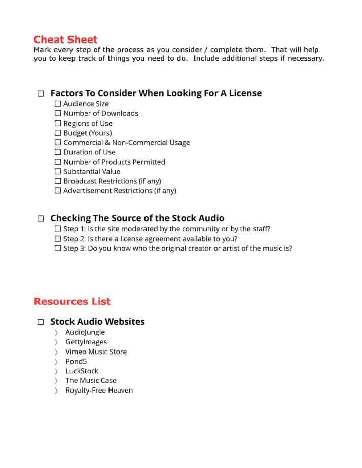 Understanding Stock Audio PLR content