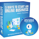 5 Ways to Start an Online Business Video Training Personal Use