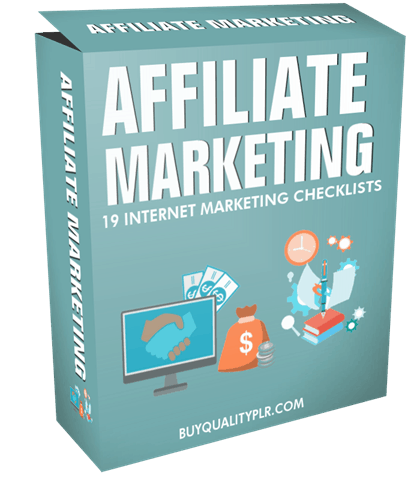 Internet Marketing Checklist - 19 Affiliate Marketing Checklists
