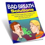 Bad Breath Solutions PLR Report with Squeeze Page Exclusive PLR