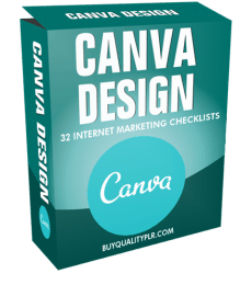Canva Design Internet Marketing Checklist