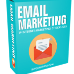 Email Marketing Internet Marketing Checklist