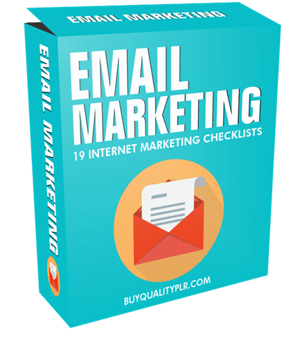 Internet Marketing Checklist - 19 Email Marketing Checklists