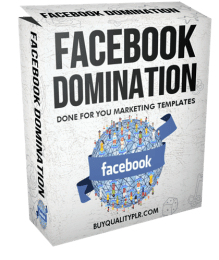 Facebook Domination Done For You Marketing Templates