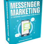 Messenger Marketing Internet Marketing Checklist