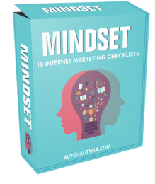 Mindset Internet Marketing Checklist