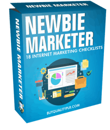Newbie Marketer Internet Marketing Checklist