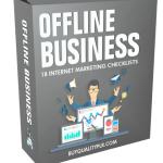 Internet Marketing Checklist – 18 Offline Business Checklists