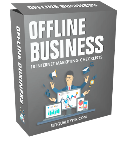 Offline Business Internet Marketing Checklist