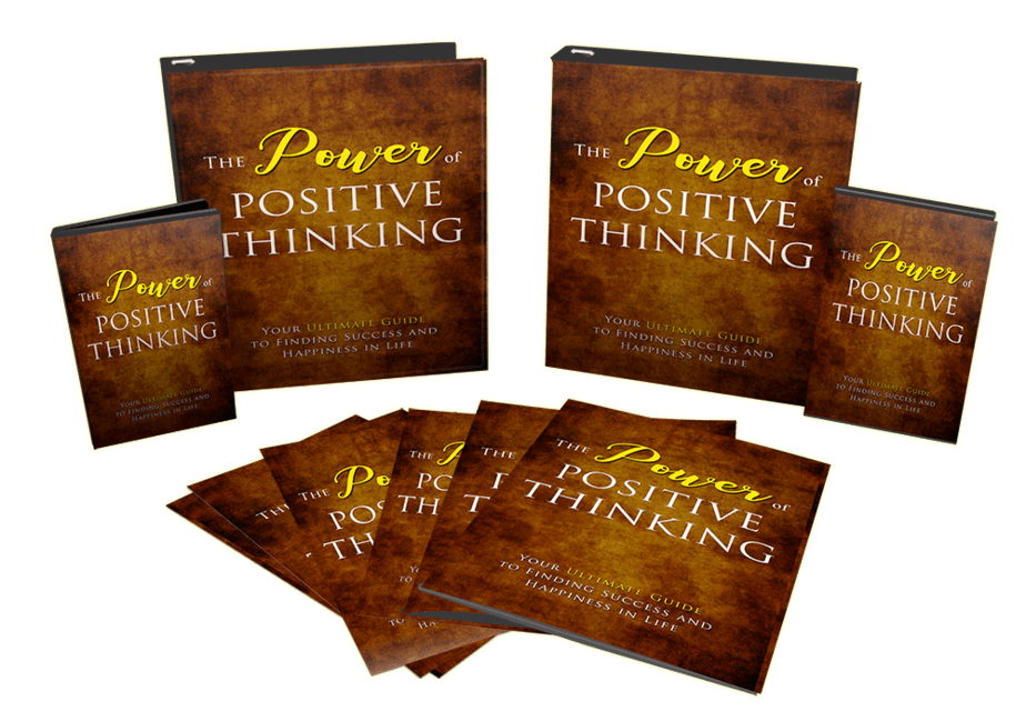 The Power Of Positive Thinking Bundle