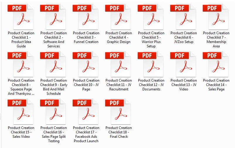 Product Creation Checklist