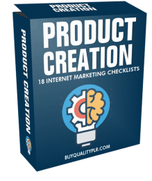 Product Creation Internet Marketing Checklist