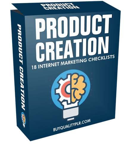 Product Creation Internet Marketing Checklist
