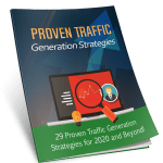 Proven Traffic Generation Strategies 10k Words Exclusive PLR eBook with Squeeze Page