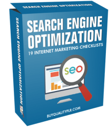 Search Engine Optimization Internet Marketing Checklist