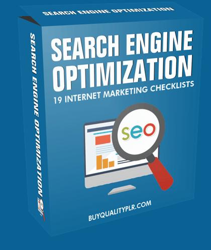 Search Engine Optimization Internet Marketing Checklist