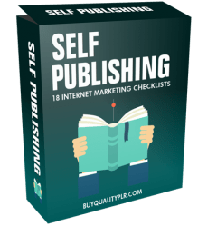 Self Publishing Internet Marketing Checklist