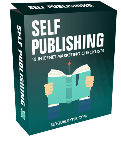 Internet Marketing Checklist - 18 Self Publishing Checklists