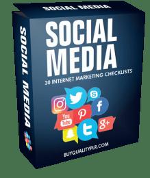 Social Media Internet Marketing Checklist.